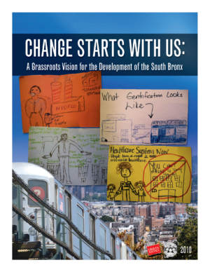 Change Starts with Us: A Grassroots Vision for the Development of the South Bronx