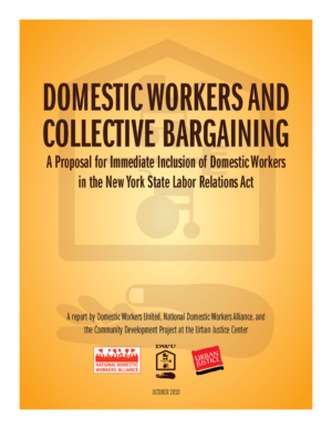 Domestic Workers and Collective Bargaining