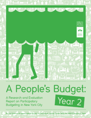 A People's Budget: A Research and Evaluation Report on Year 2 of Participatory Budgeting in New York City