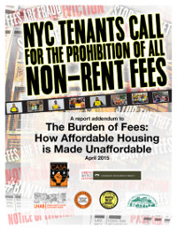 NYC Tenants Call for the Prohibition of all Non-Rent Fees