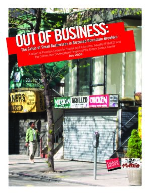 Out of Business: The Crisis of Small Businesses in Rezoned Downtown Brooklyn