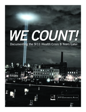 We Count! Documenting the 9/11 Health Crisis 8 Years Later