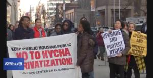 Spectrum Noticias NY1: Inquilinos de varios edificios de vivienda pública demandan a NYCHA por mejoras en apartamentos